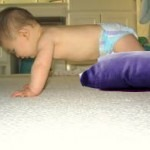 The Symmetrical Tonic Neck Reflex prepares baby for crawling